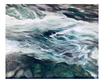 Giclée Print | Snoqualmie River | Limited-edition | Signed Original Fine Art | Wall Décor