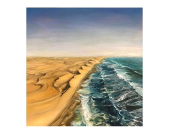 Oil Painting on Canvas | Namibia | Signed Original Fine Art | Museum Quality | Wall Décor