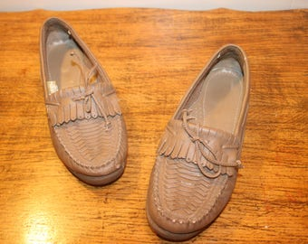 87e3b30bf Size 7.5 Women Leather Loafers