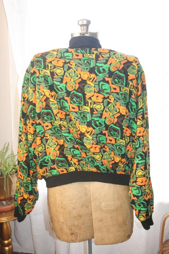 PUNK ROCKER JACKET,windbreaker jacket,abstract ja… - image 4