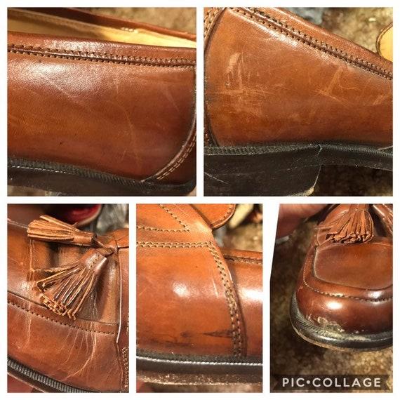 Size 7.5,ROCKER LEATHER LOAFERS,tassel loafers me… - image 10