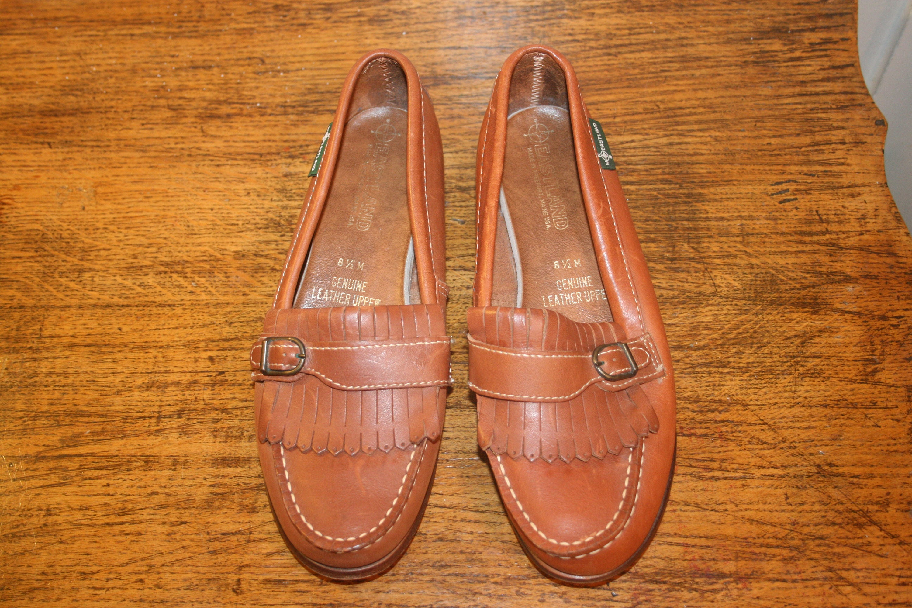 ea04fbcc0ae Size 8.5BOHO LEATHER LOAFERSsize 8.5 loafers8.5