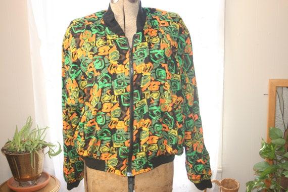 PUNK ROCKER JACKET,windbreaker jacket,abstract jac