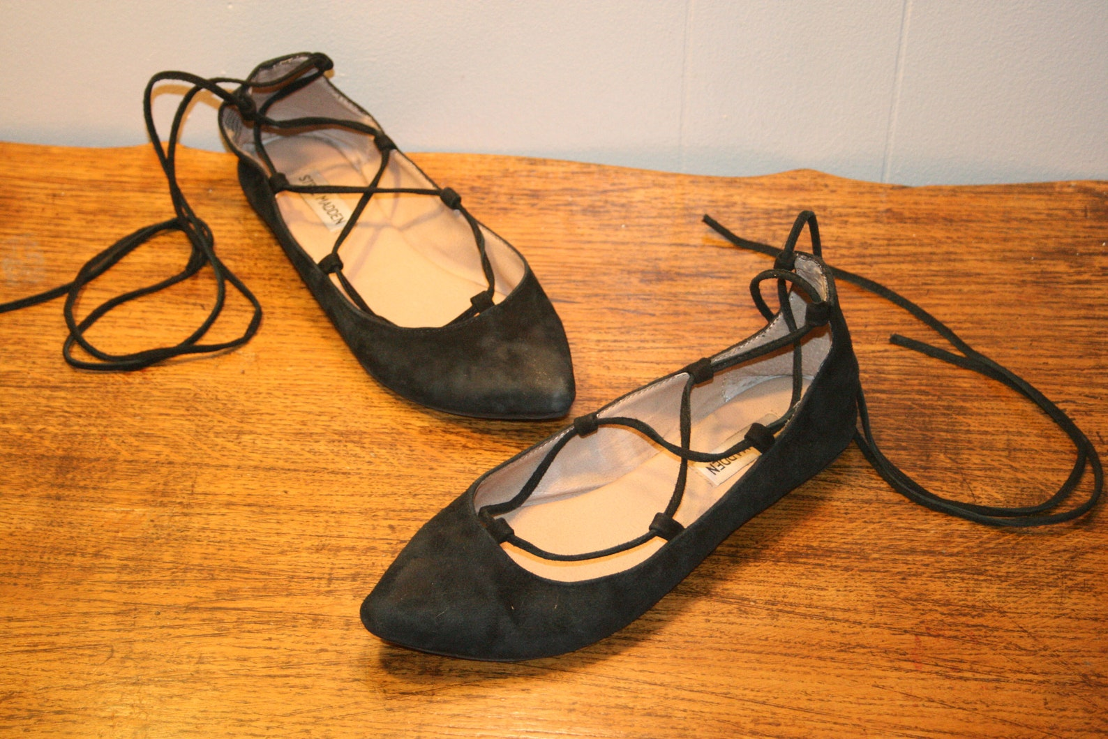 size 7,goth leather flats,wrap around flats,flats for women,leather flats 7,flats 7,ballet flats,ballet flats for women,ballet f