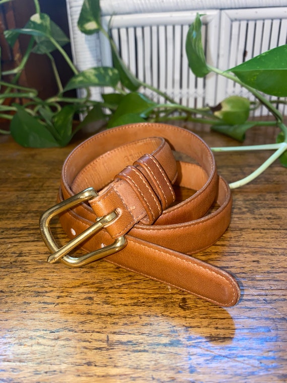 COACH LEATHER Belt,boho leather belt,leather belt,