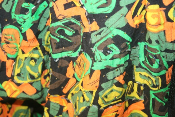 PUNK ROCKER JACKET,windbreaker jacket,abstract ja… - image 8