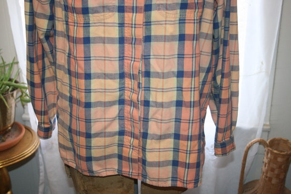 LIZ CLAIBORNE FLANNEL Shirt,flannel shirt pattern… - image 7