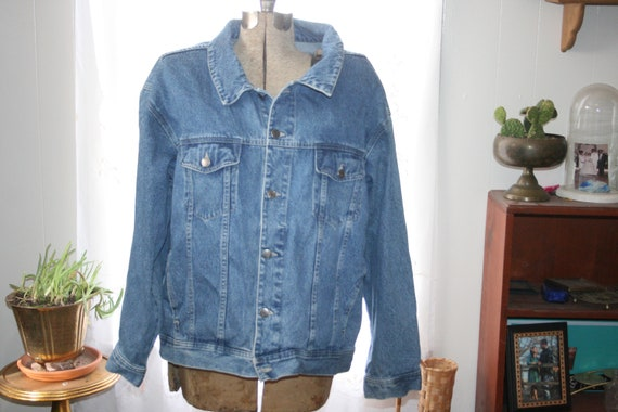 GRUNGE DENIM JACKET,denim jacket,hipster denim ja… - image 1
