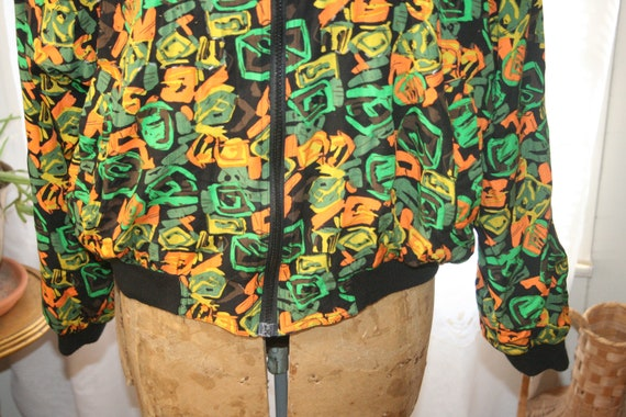 PUNK ROCKER JACKET,windbreaker jacket,abstract ja… - image 7