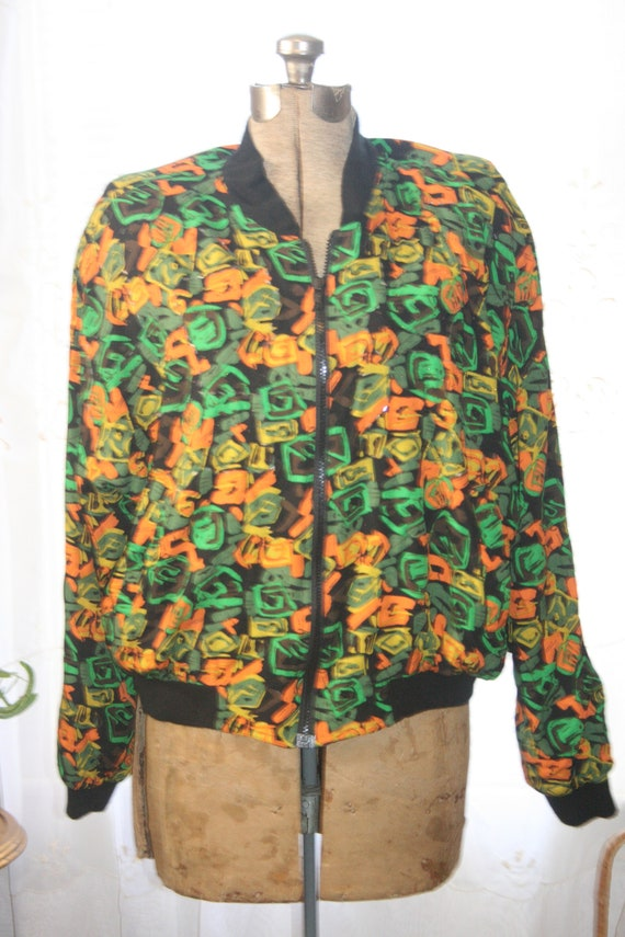 PUNK ROCKER JACKET,windbreaker jacket,abstract ja… - image 2