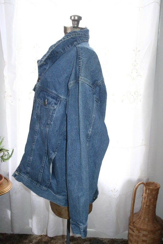 GRUNGE DENIM JACKET,denim jacket,hipster denim ja… - image 3