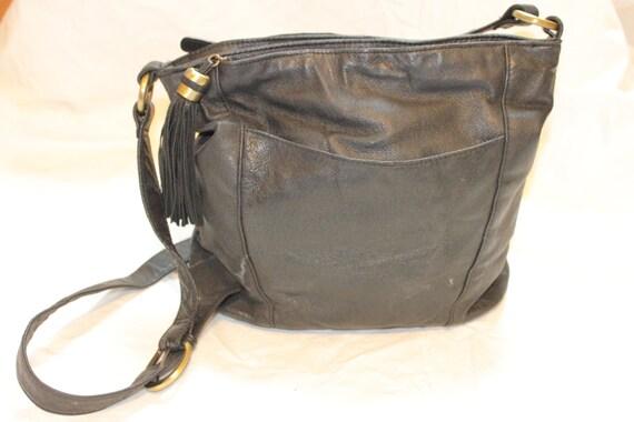 BIKER LEATHER PURSE,crossbody leather purse,grunge purse,biker purse,rocker purse,motorcycle purse,vintage leather purse,boho leather bag
