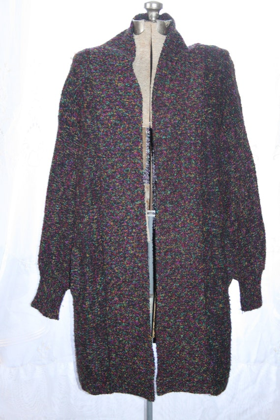 HIPSTER COLORFUL CARDIGAN,goth cardigan,colorful c