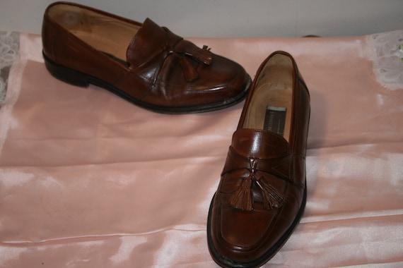 Size 7.5,ROCKER LEATHER LOAFERS,tassel loafers me… - image 2