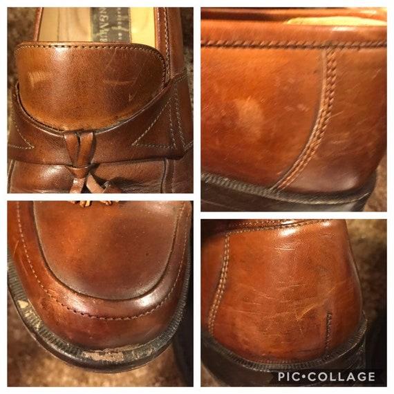 Size 7.5,ROCKER LEATHER LOAFERS,tassel loafers me… - image 9