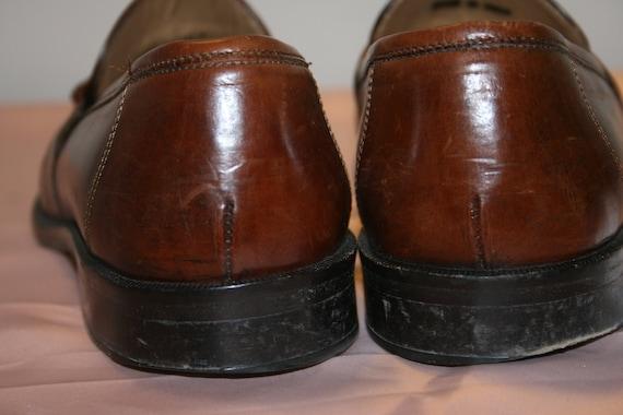 Size 7.5,ROCKER LEATHER LOAFERS,tassel loafers me… - image 4
