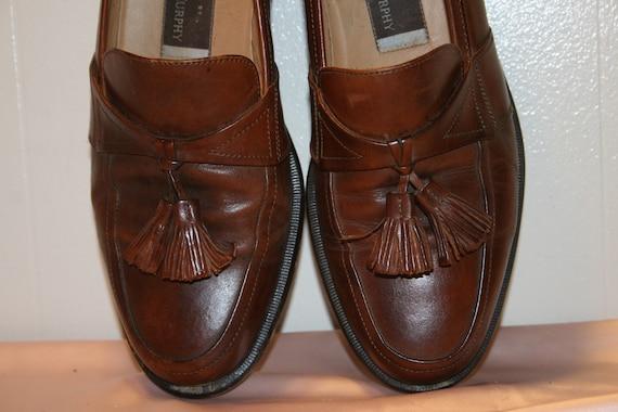 Size 7.5,ROCKER LEATHER LOAFERS,tassel loafers me… - image 6