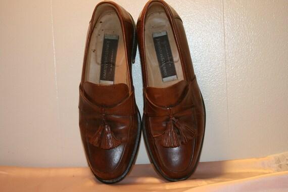 Size 7.5,ROCKER LEATHER LOAFERS,tassel loafers me… - image 7