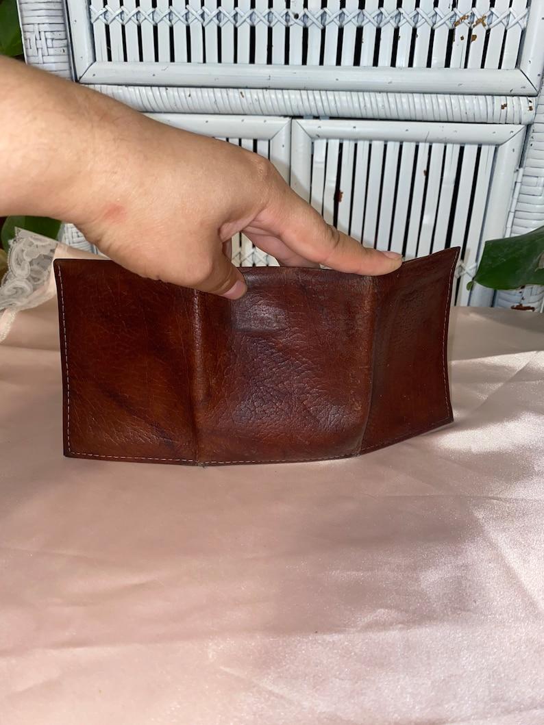 MINIMALIST LEATHER WALLET,trifold wallet,leather trifold wallet,travel wallet,slim travel wallet,men wallet,men travel wallet,amity wallet