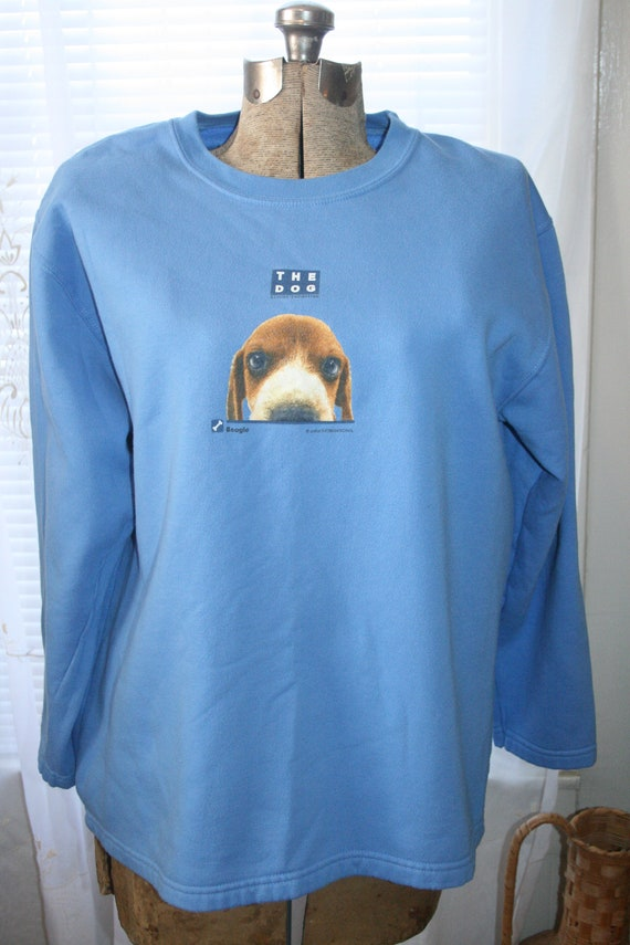 BEAGLE GOTH SWEATER,beagle sweater,beagles sweater