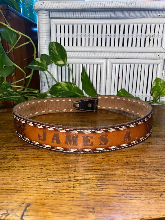TOOL JAMES A BELT,james belt,james,tool leather be
