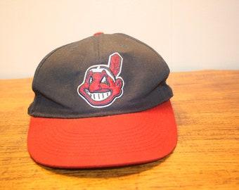 CLEVELAND INDIANS cap,cleveland indians hat,cleveland indians snapback,cleveland ohio,cleveland indians,baseball cap,cleveland oh,slider