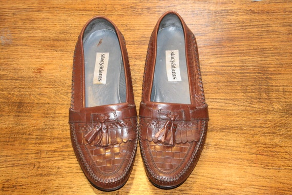Size 9,MEN TASSEL LOAFERS,men loafers,loafers 9,me