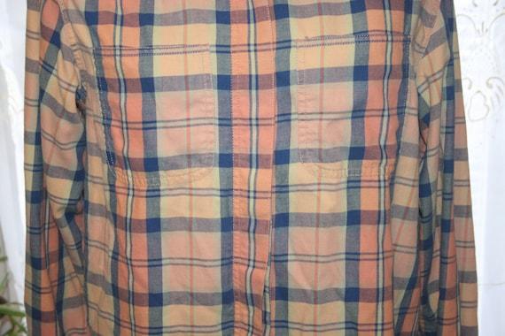 LIZ CLAIBORNE FLANNEL Shirt,flannel shirt pattern… - image 6