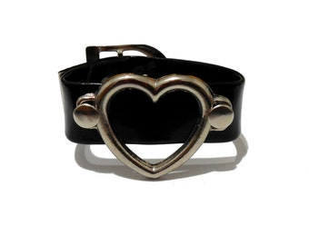 Large Heart Ring Cuff