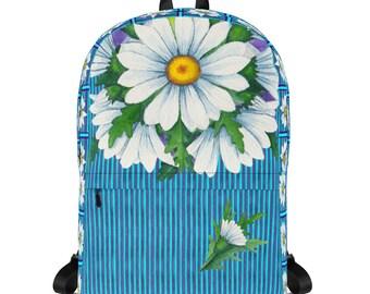Stripey Daisy Backpack