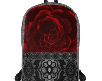 Red Rose Backpack