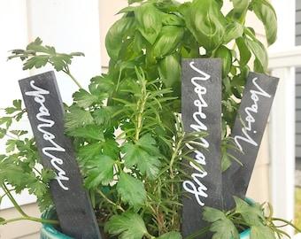 Custom Slate Garden Marker