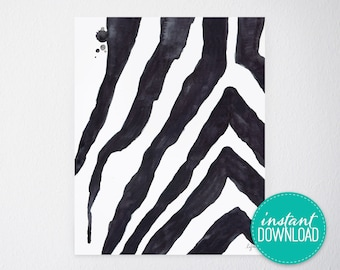 Safari Stripes Printable