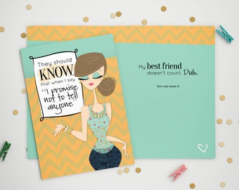 Birthday Card - Best Friend