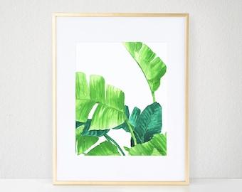 Lush Palms I