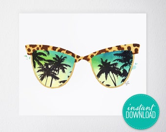 Sunglasses Printable
