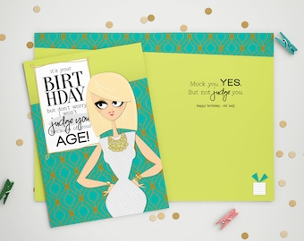 Birthday Card - Mock You