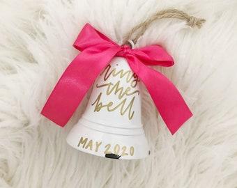 Breast Cancer Survivor Christmas Bell