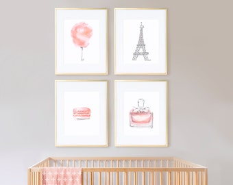 Sweet Blush with Gray Eiffel