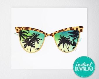 Sunglasses Printable