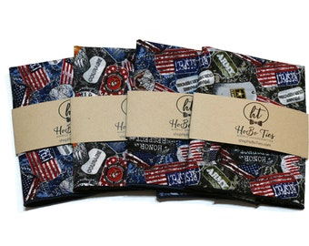 SALE~Military Pocket Square~Wedding Accessory~Anniversary Gift~Mens Pocket Square~US Armed Forces~Navy~Army~Air Force~Marines~Pocket Square