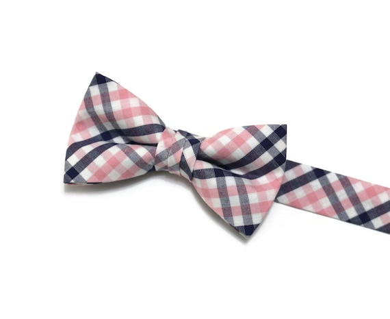 Bow Tie Mens NEW Bowtie Adjustable Dickie RED YELLOW TARTAN CHECKED