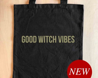Fall Bag, Fall Tote Bag, Fall Gift, Witch Tote Bag, Witchy Gifts, Birthday Gift for Her, Holiday Gift for Her, Best Friend Christmas Gift