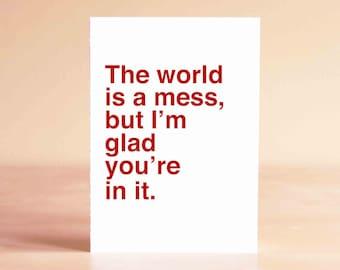 Funny Valentine Card, Funny Birthday Card, Funny Graduation Card, Funny Fathers Day Card, Funny Mothers Day Card, Funny Thank You Card