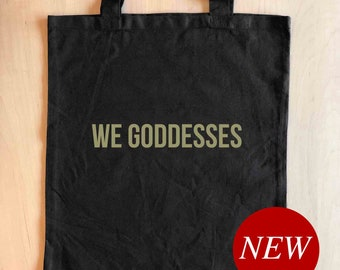 Tote Bag for Women, Feminist Tote, Birthday Gift for Her, Best Friend Gift, Mothers Day Gift, Graduation Gift, Holiday Gift