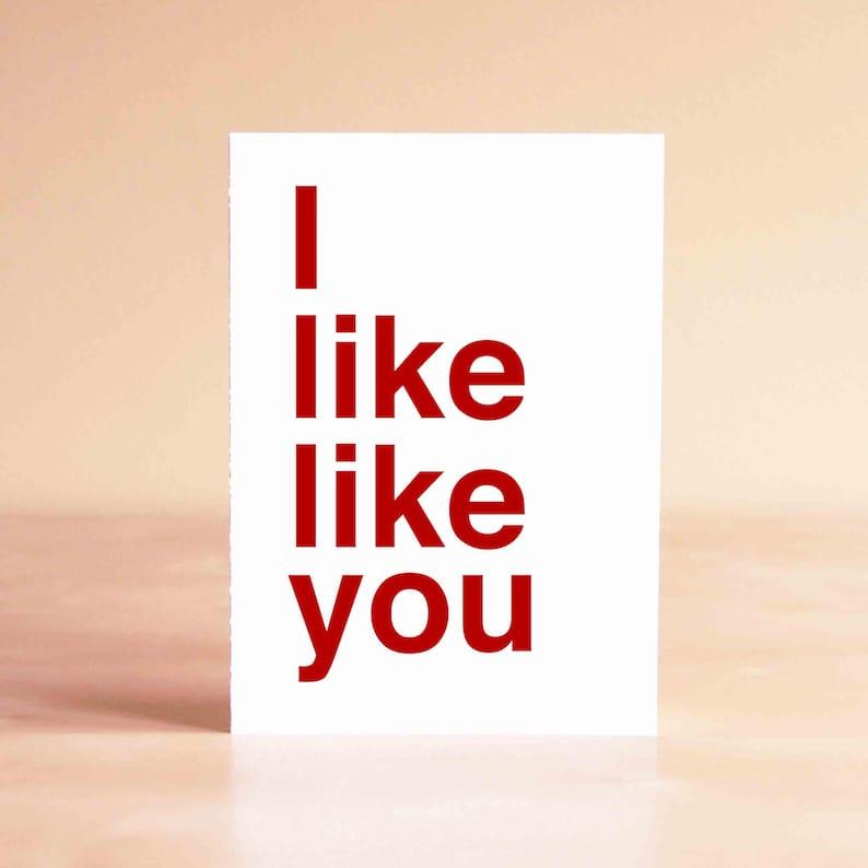Funny Valentine Card  Valentine's Day Gift  Valentine image 0