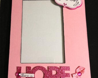 Hope Breast Cancer Frame