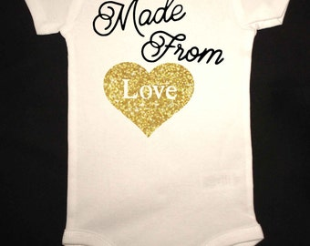 Made From Love Baby Bodysuit