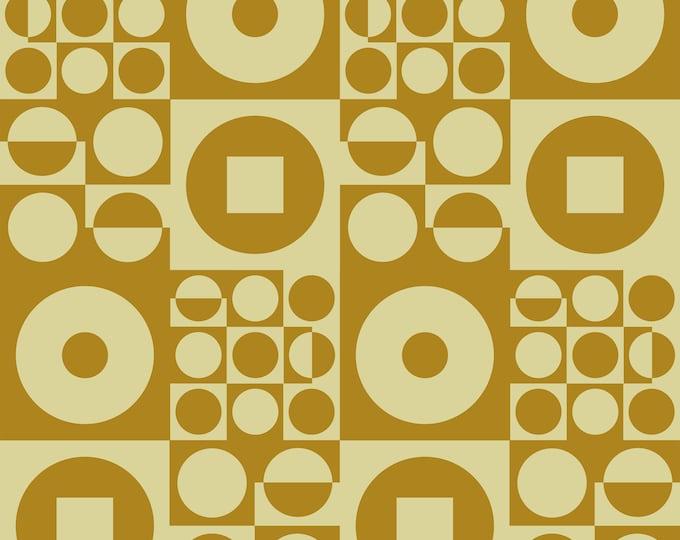 ROUND SQUARE Olive | Vintage Iconic 60s - 70s Danish Design