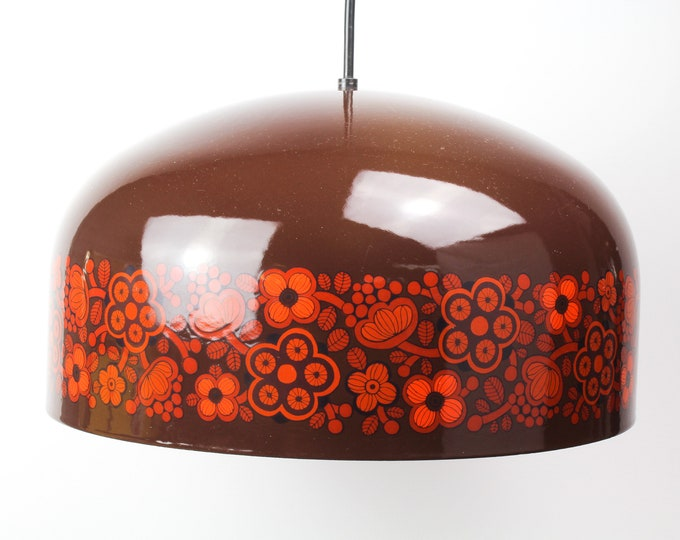 KALAS-29 Pendant Lamp by Kaj Franck and Raija Uosikkinen for Fog - Mørup and Arabia, 1960s